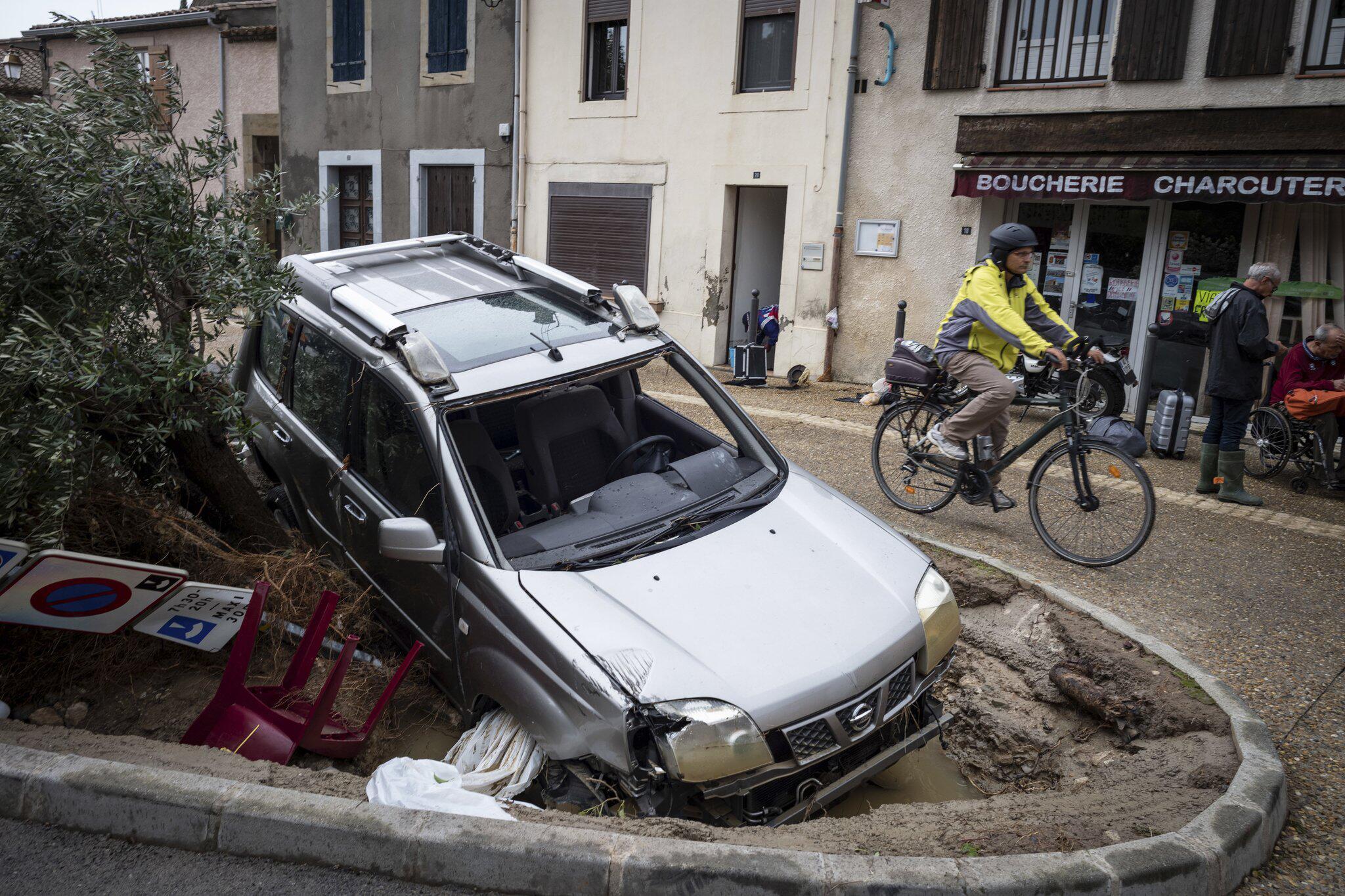 Bild zu Überschwemmungen in Frankreich