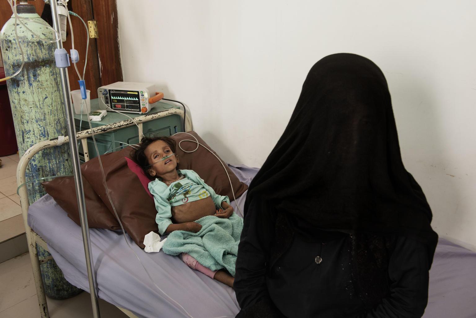 Bild zu Cholera, Sanaa, Desinfizieren