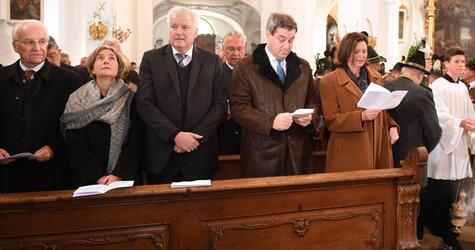 Gedenkfeier, 30. Todestag, Franz Josef Strauß, Edmund Stoiber, Horst Seehofer, Markus Söder, CSU