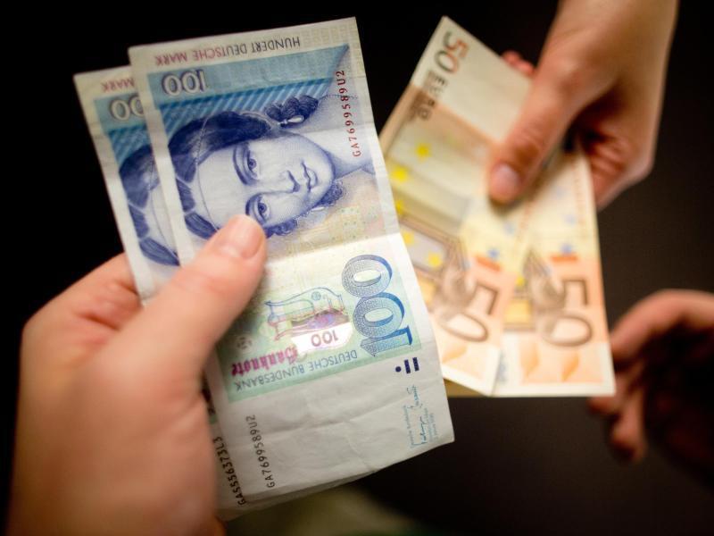 Bild zu Umtausch von D-Mark in Euro