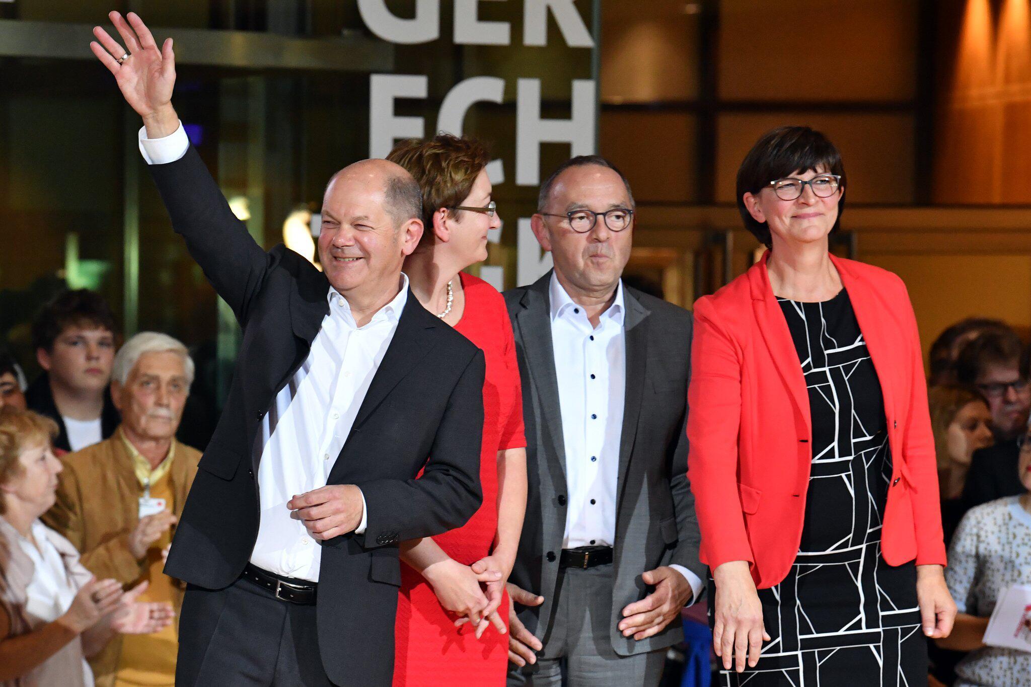 Bild zu Ergebnis des SPD-Mitgliedervotums zum Parteivorsitz