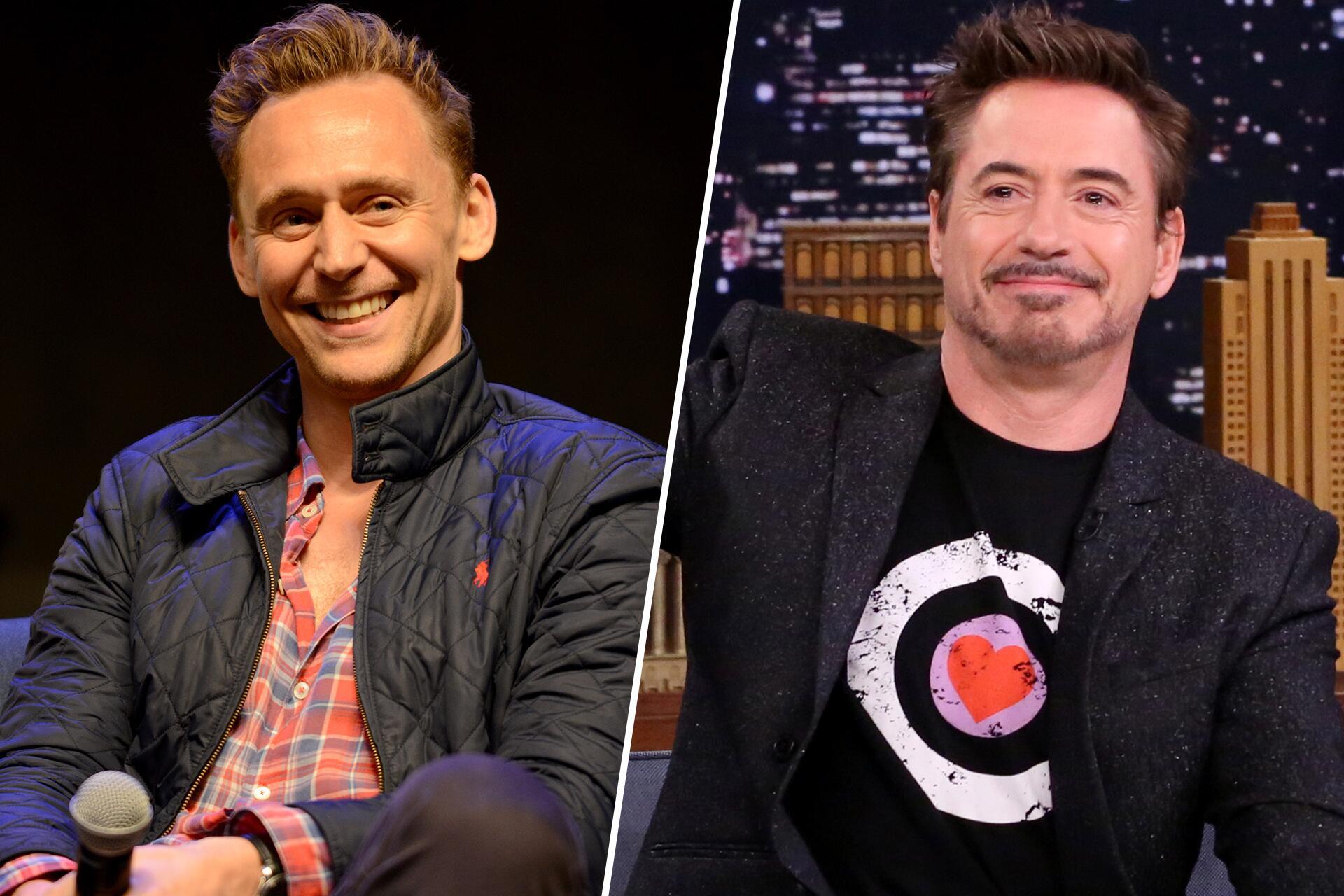 Bild zu Tom Hiddleston, Robert Downey Jr., Instagram