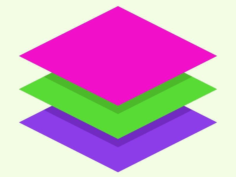 Bild zu Mehrere Ebenen eines Bildes