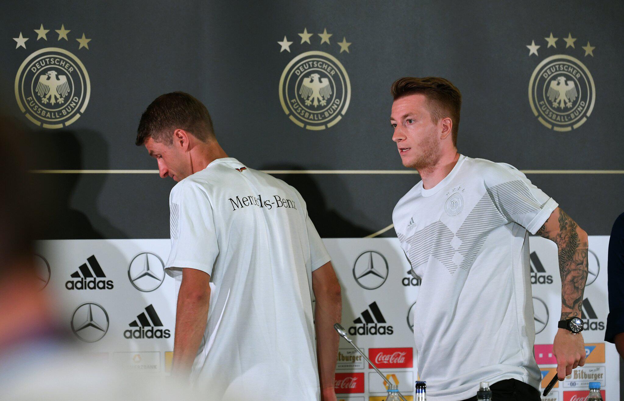 Bild zu WM 2018 - Pressekonferenz Deutschland