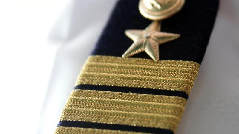 Schulterklappe eines Kapitäns