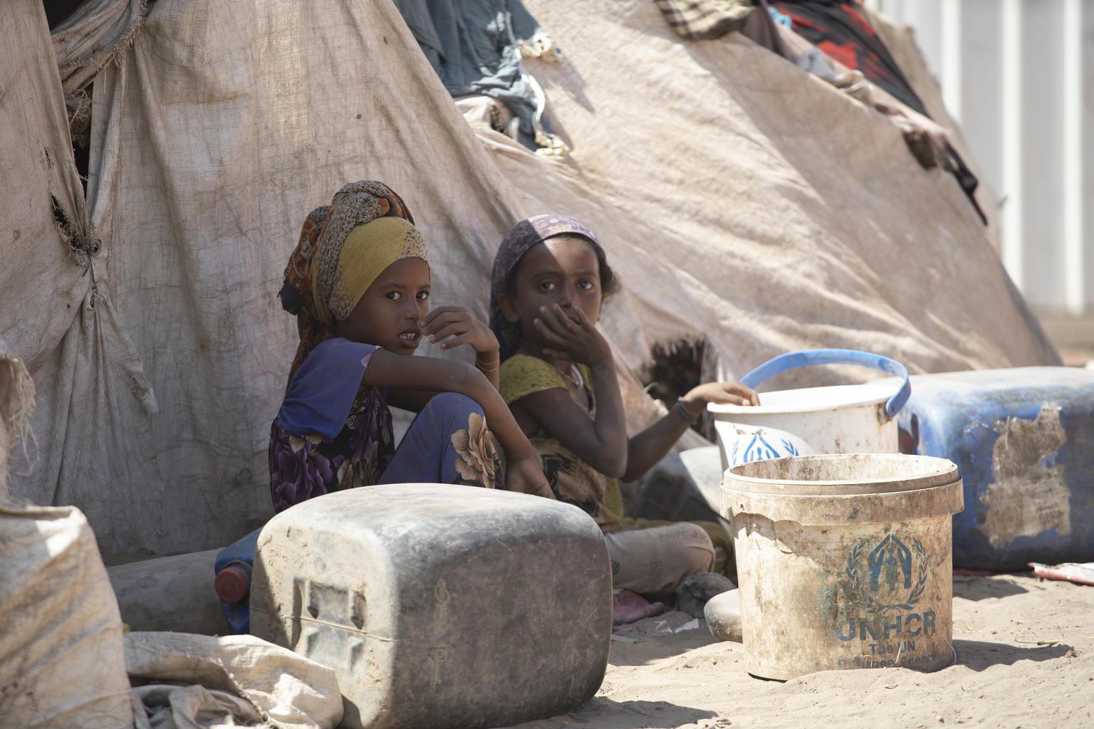 Bild zu Jemen, Camp, Saudi Arabien