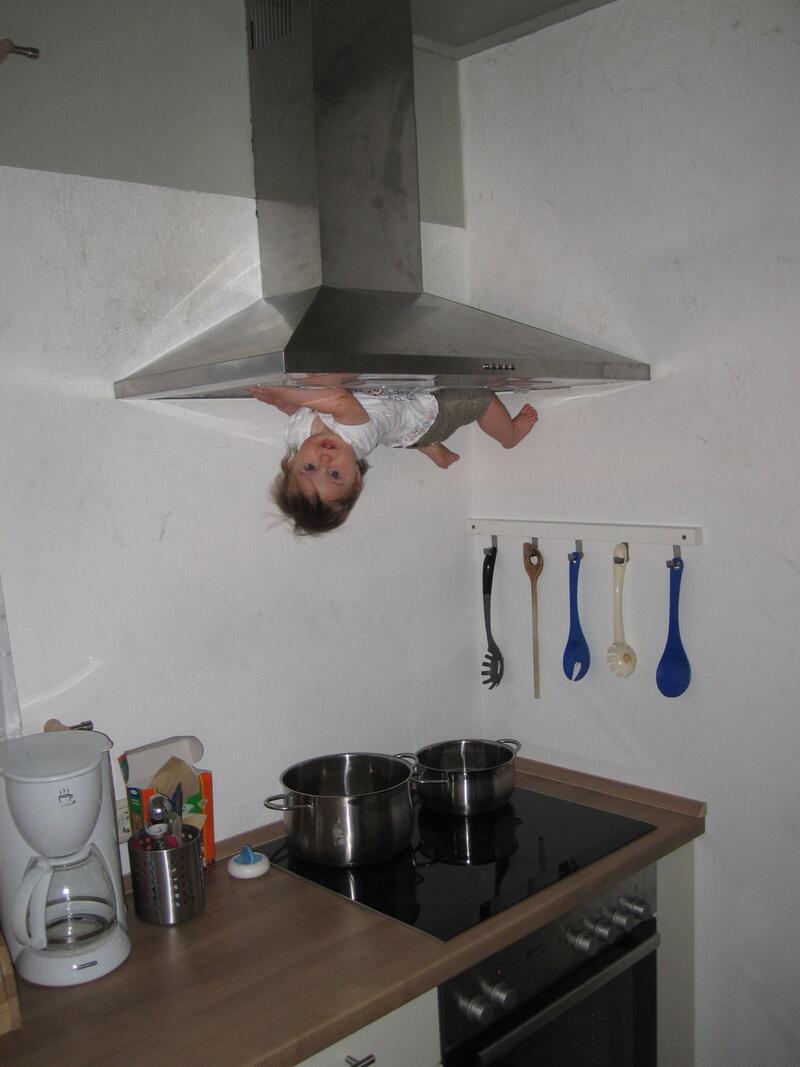 """Bild zu Baby mit magischen Fähigkeiten im """"Verrückten Haus"""" in Bispingen"""