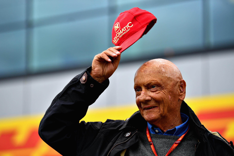 Bild zu Niki Lauda, Kappe, Mütze, Cap