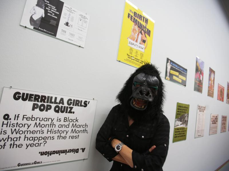 Bild zu Guerrilla Girls