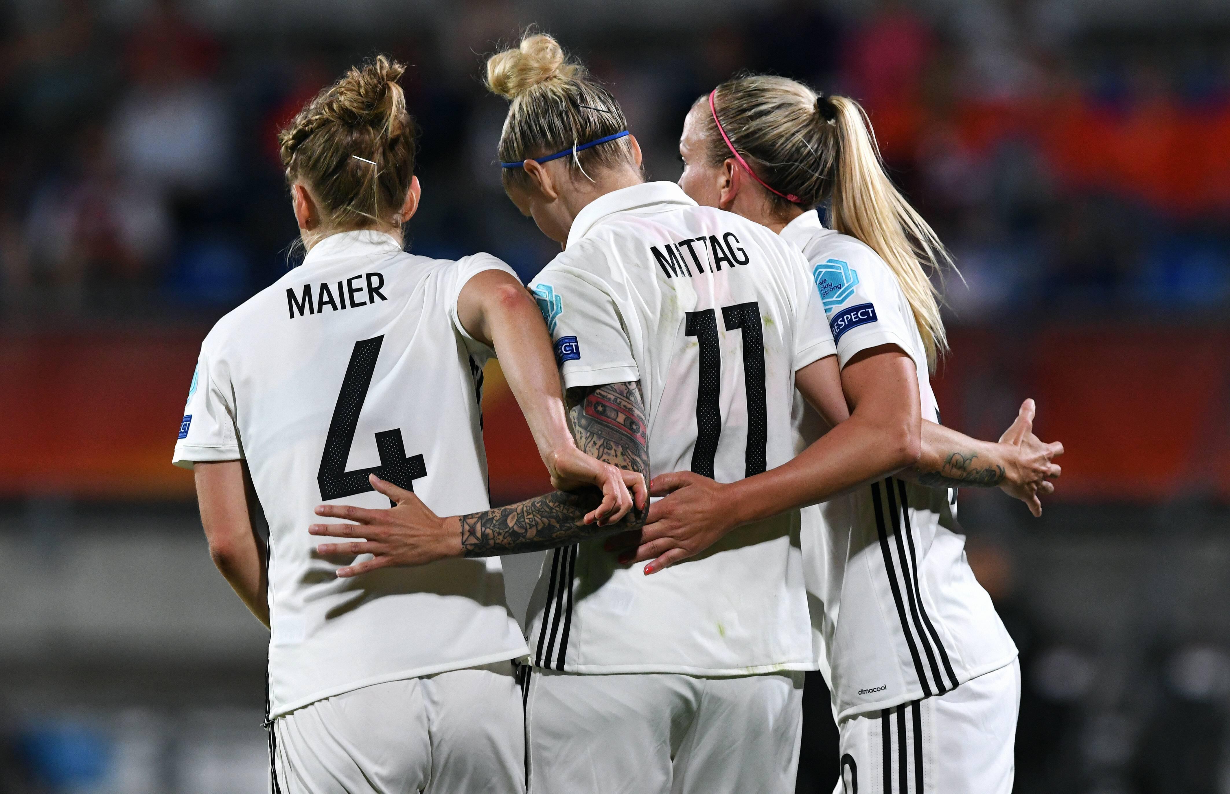 Bild zu Deutschland, Frauen EM, Europameisterschaft, Islacker