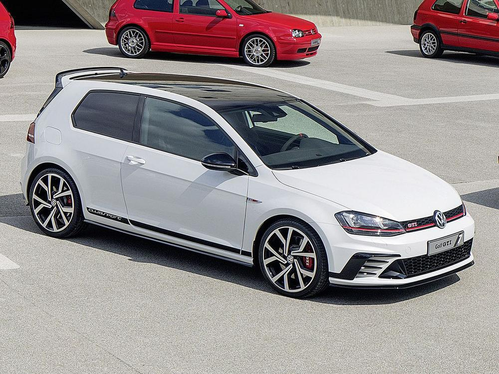 Bild zu VW GTI Clubsport S