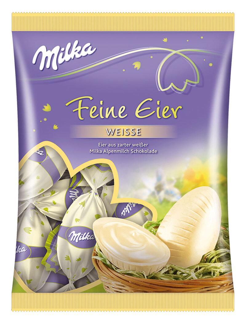 Bild zu Milka Feine weiße Eier