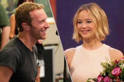 Chris Martin Jennifer Lawrence