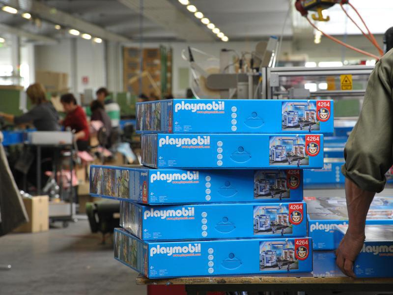 Bild zu Playmobil-Produktion