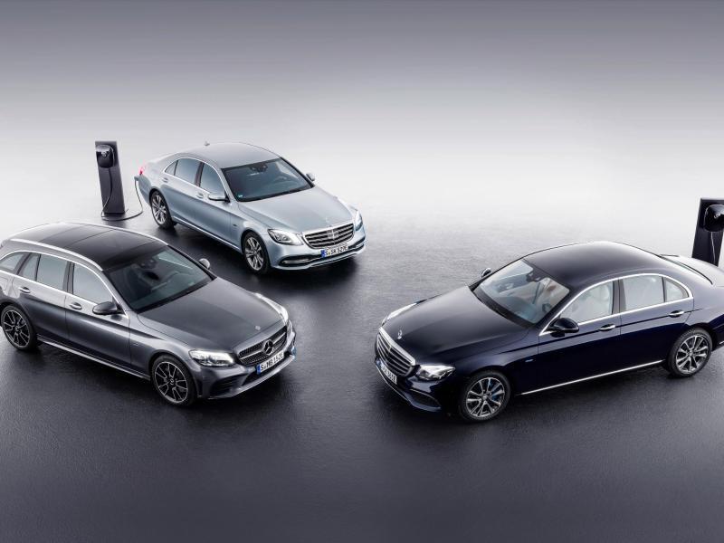 Bild zu Mercedes bereitet Plug-in-Hybriden vor