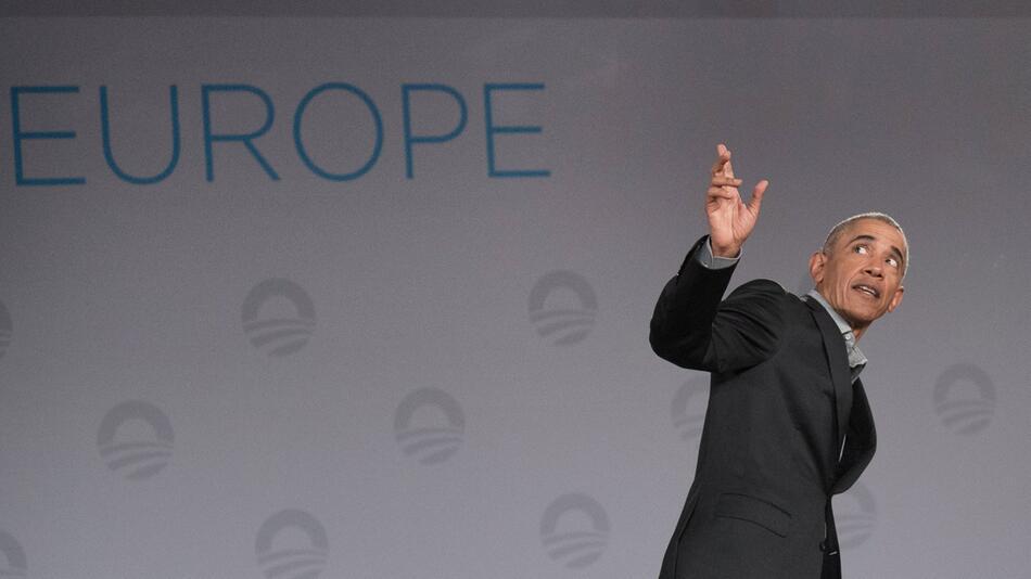 Früherer US-Präsident Barack Obama in Berlin