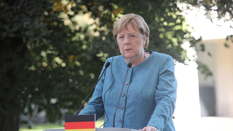 Bundeskanzlerin Merkel in Warschau