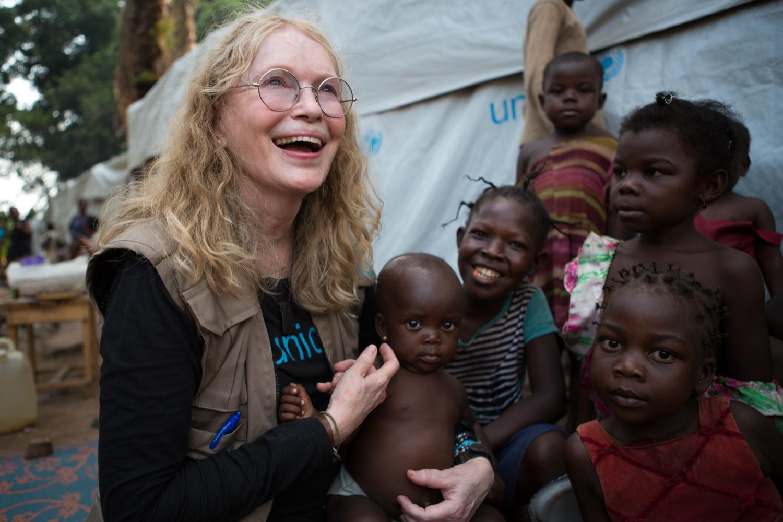 Bild zu Mia Farrow, UNICEF, Zentralafrikanische Republik