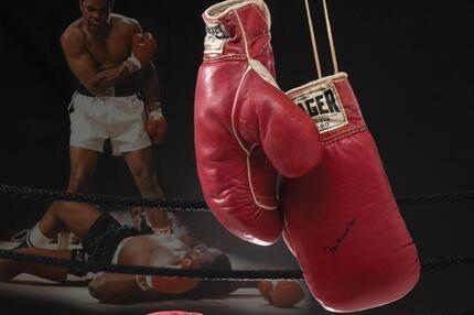 Boxhandschuhe von Ali und Liston