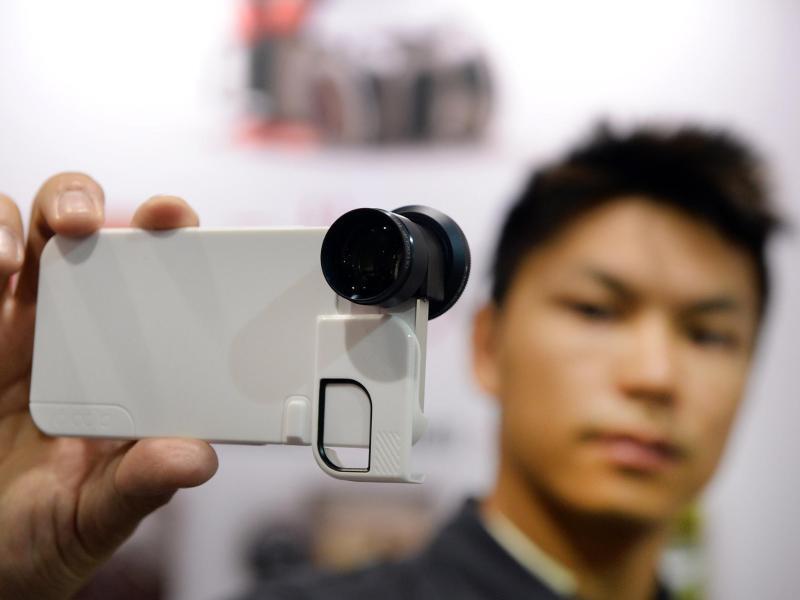Bild zu Anstecklinse fürs Smartphone