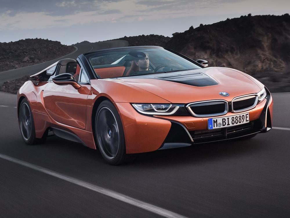 Bild zu Doppelpremiere: Der neue BMW i8 Roadster und das neue BMW i8 Coupé