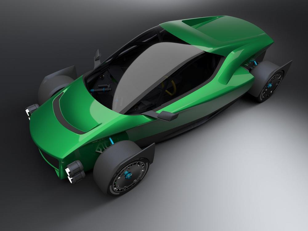 Bild zu Xing Mobility Miss R Concept