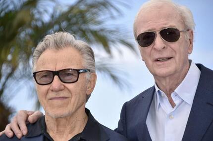 Cannes Film Festival - Harvey Keitel & Michael Caine