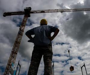 Gefahren auf der Baustelle