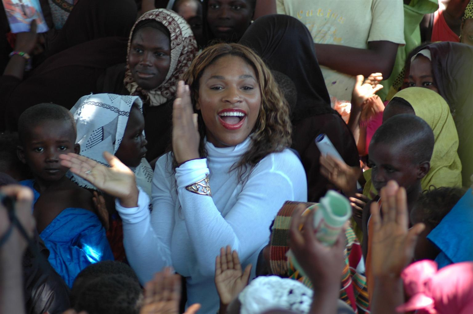 Bild zu Serena Williams, UNICEF, Ghana