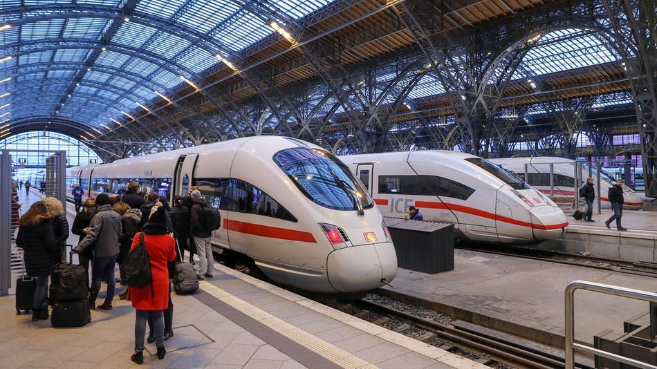 Deutsche Bahn, DB, Hauptbahnhof, Bahnhof, Leipzig, ICE