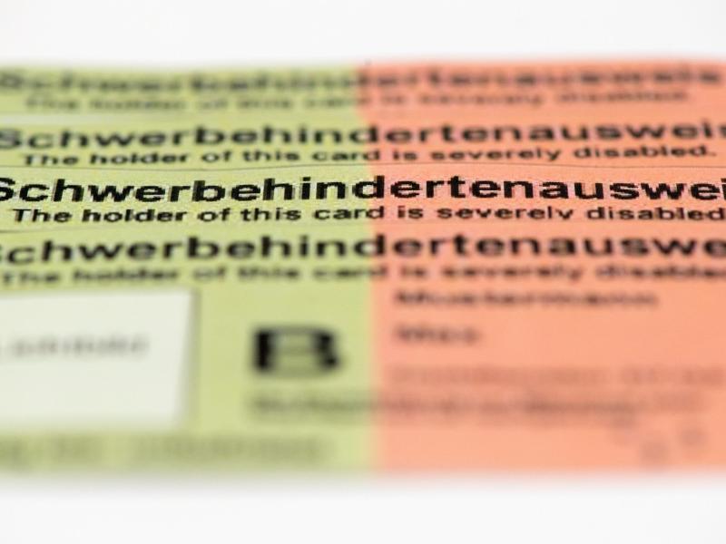 Bild zu Schwerbehindertenausweis