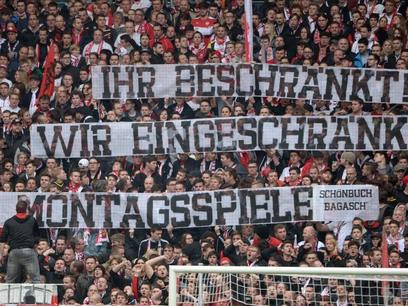 Bild zu Fan-Protest