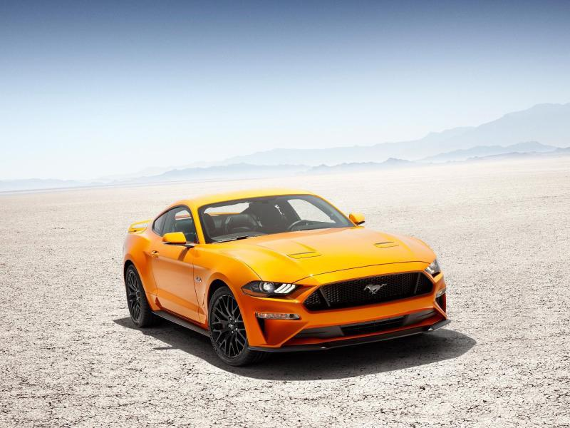 Bild zu Neuer Ford Mustang