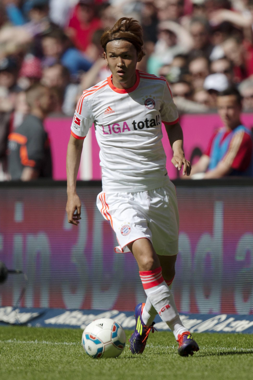 Bild zu Takashi Usami, FC Bayern,