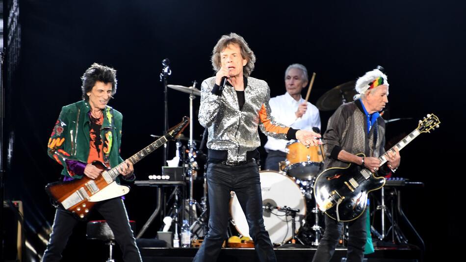 The Rolling Stones starten Europatour in Hamburg