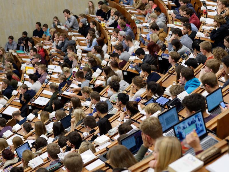 Bild zu Hörsaal an der Uni