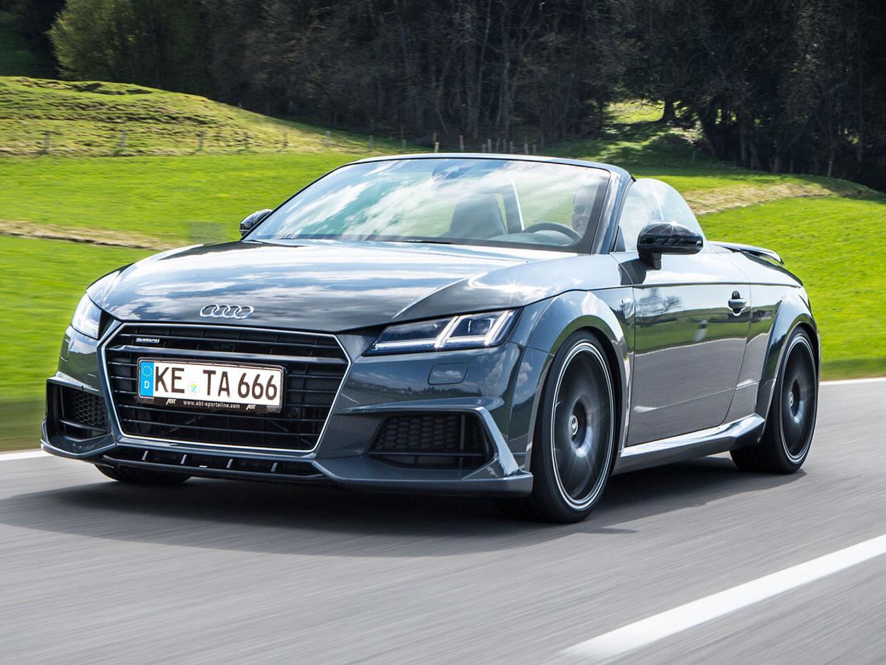 Bild zu Audi TT Roadster von Abt