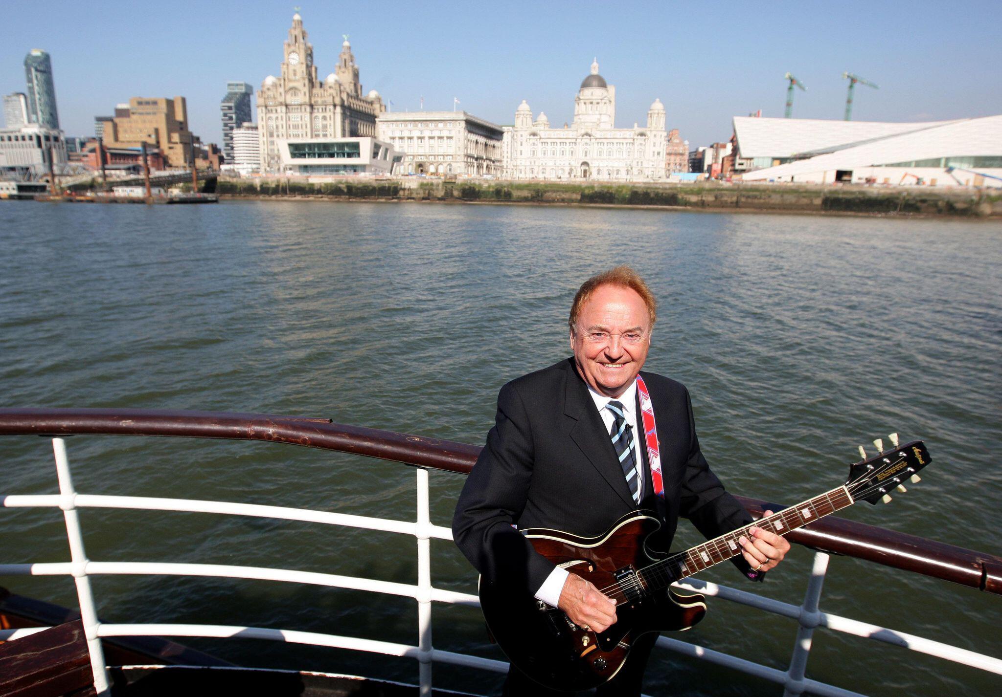 Bild zu Sänger Gerry Marsden gestorben