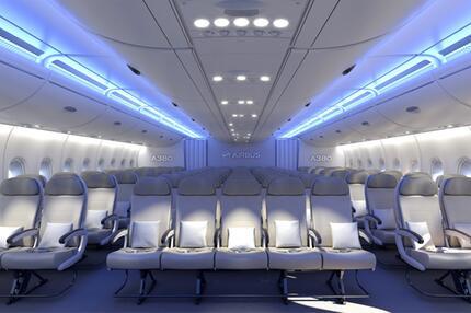 Sitzreihen Airbus A380