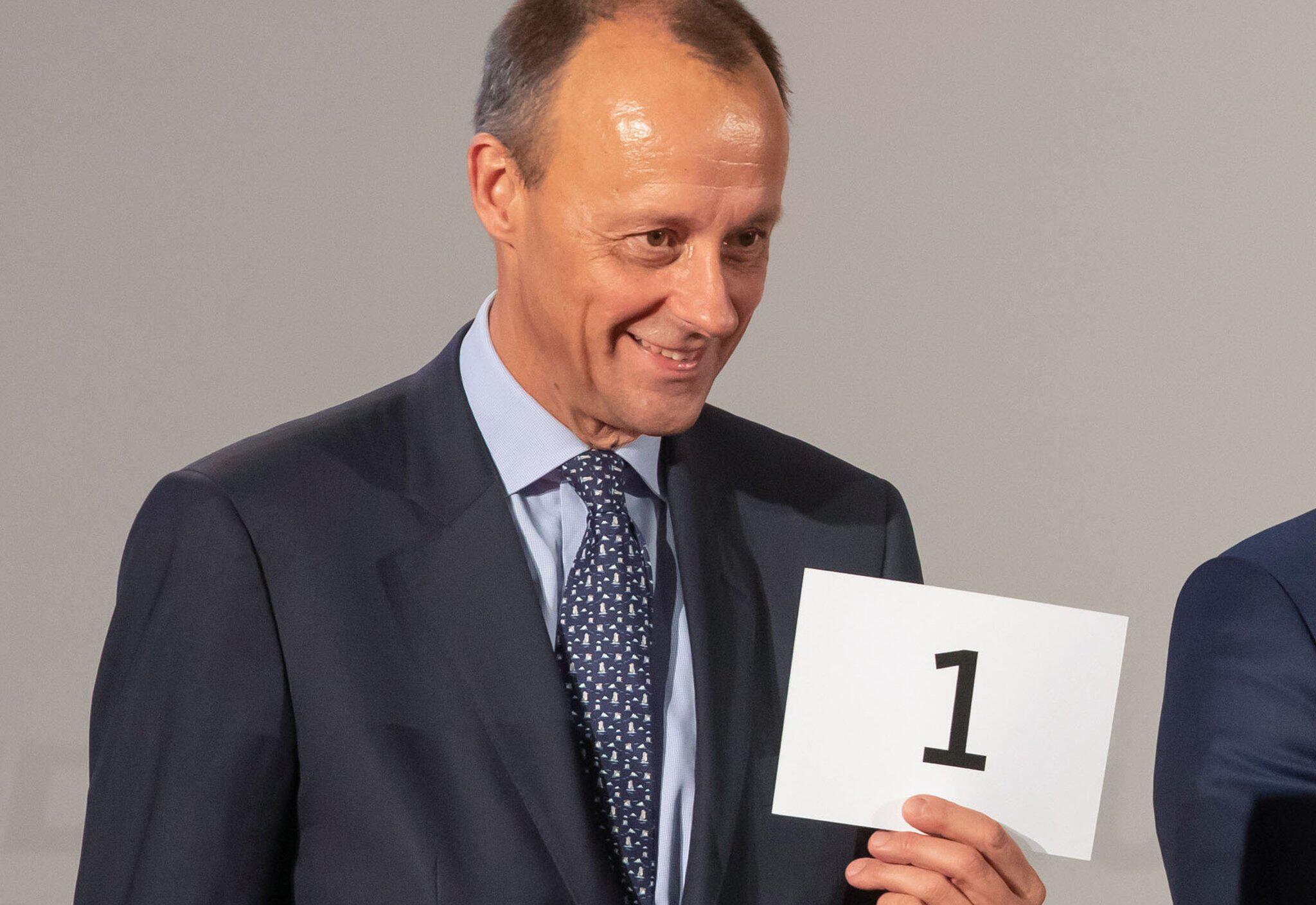 Bild zu Kreise: Merz will als CDU-Vorsitzender kandidieren