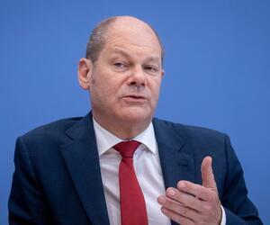 Olaf Scholz zu Euro-Zone
