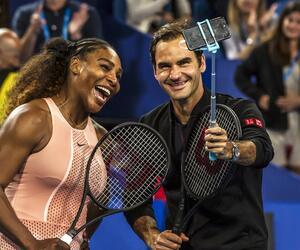Serena Williams, Roger Federer, Hopman Cup