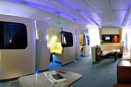 Airbus A380 Interieur