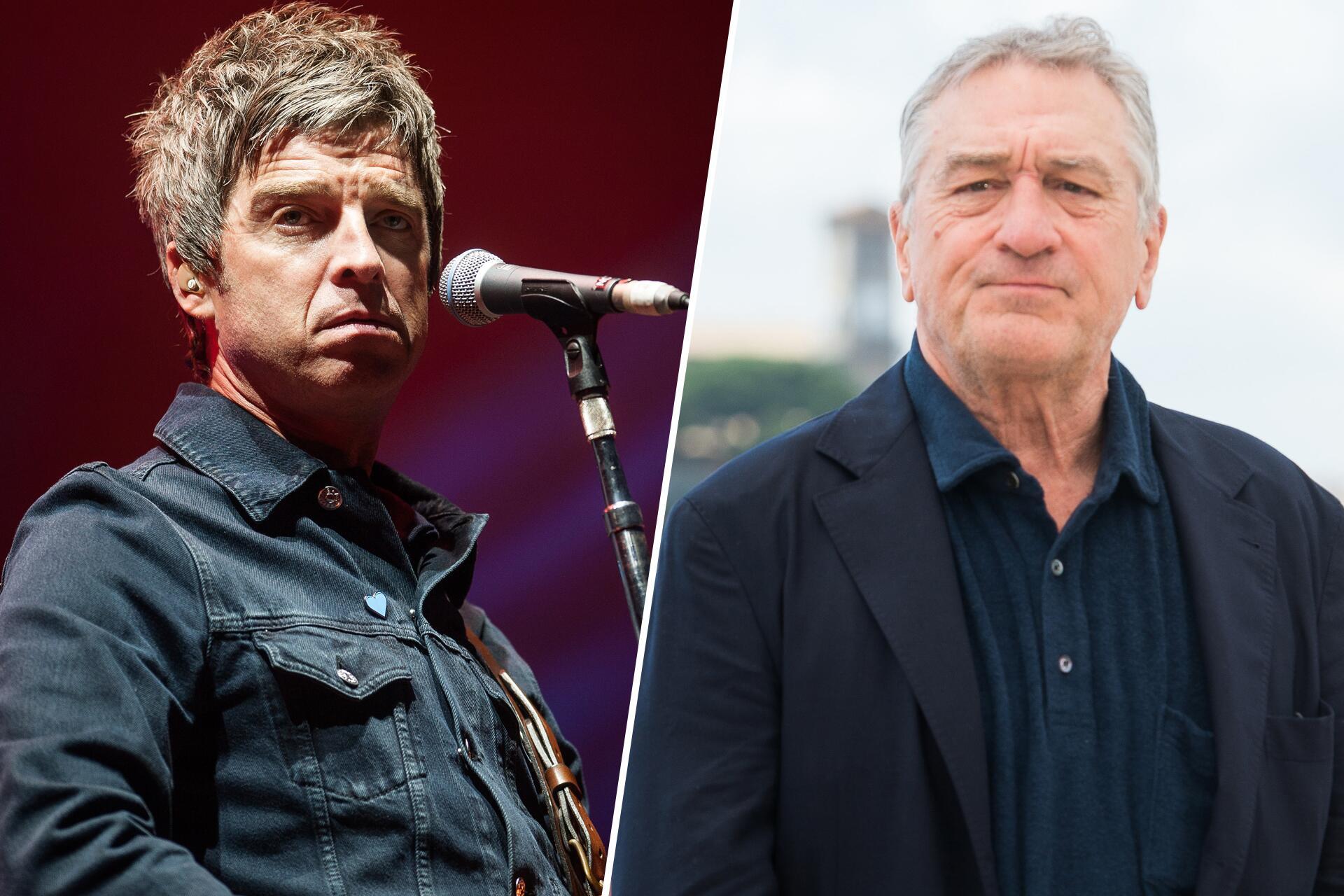 Bild zu Noel Gallagher, Robert De Niro