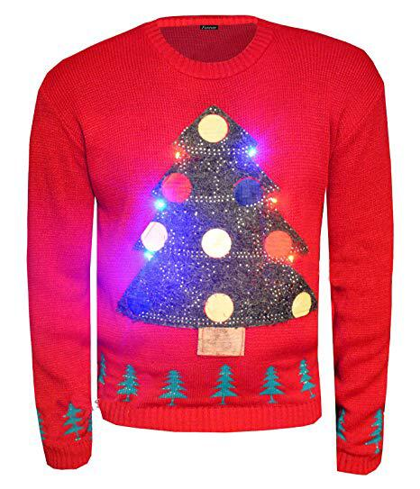Bild zu LED-Pullover, Amazon