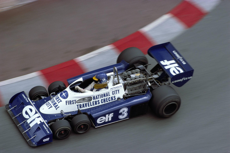 Bild zu Tyrrell, Formel 1, Monte Carlo, Monaco, 1977, Ronnie Peterson