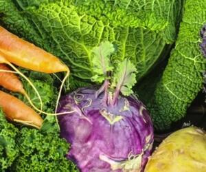 Welches Gemüse hat eigentlich im Winter Saison?