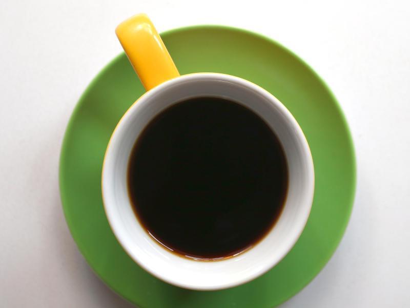 Bild zu Tasse Kaffee