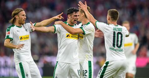 Bundesliga, Bayern München - Borussia Mönchengladbach, Torjubel