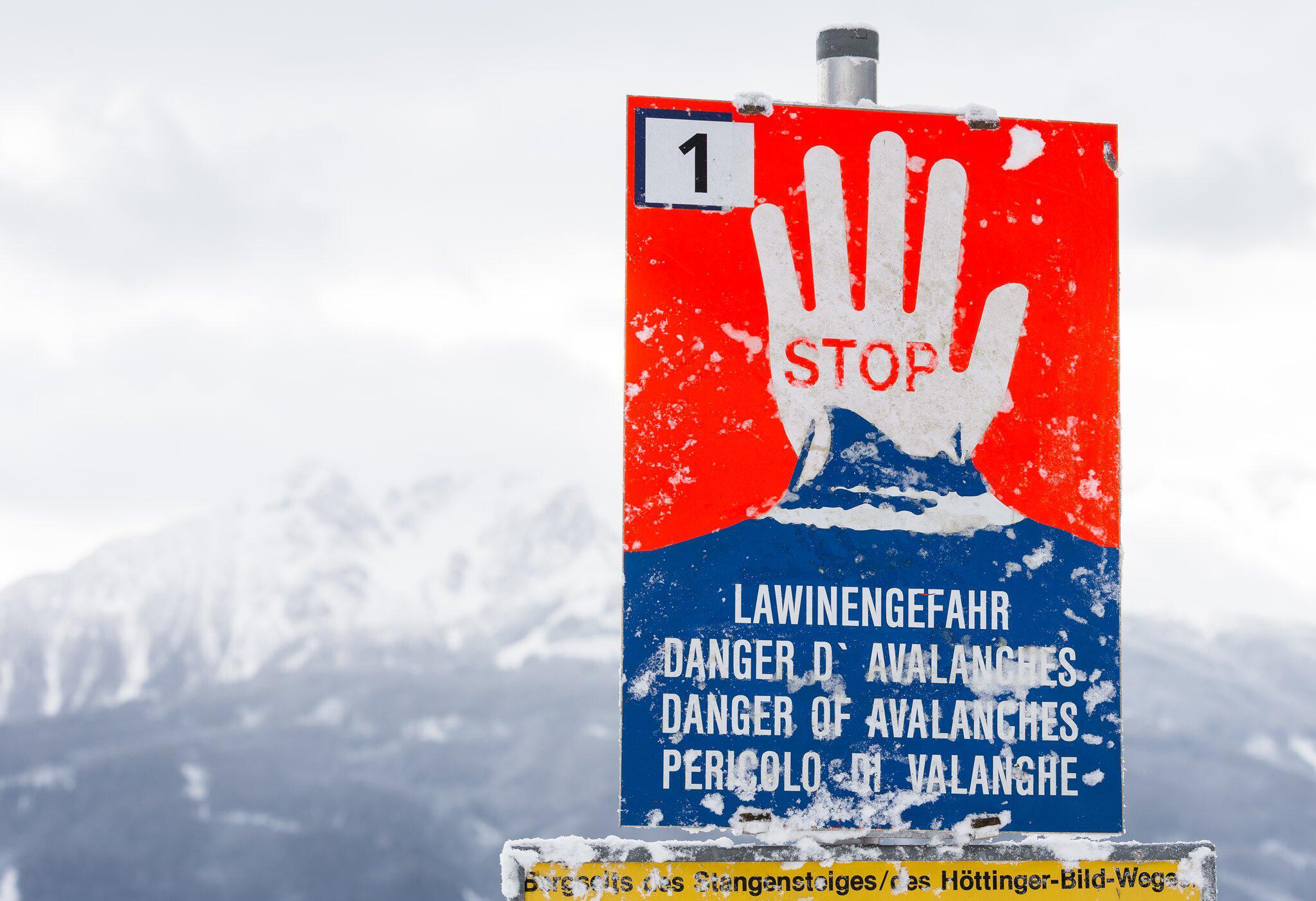 Bild zu Lawinengefahr in Österreich